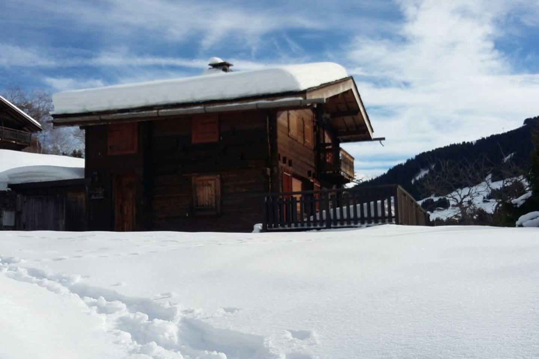 Le Chelou sous la neige