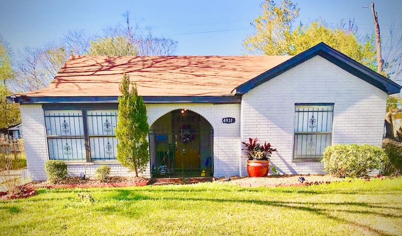 Quiet, Cute & Cozy Cottage 5mi. from Med Center