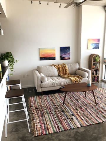 Cozy, Chic Downtown Apartment Stay