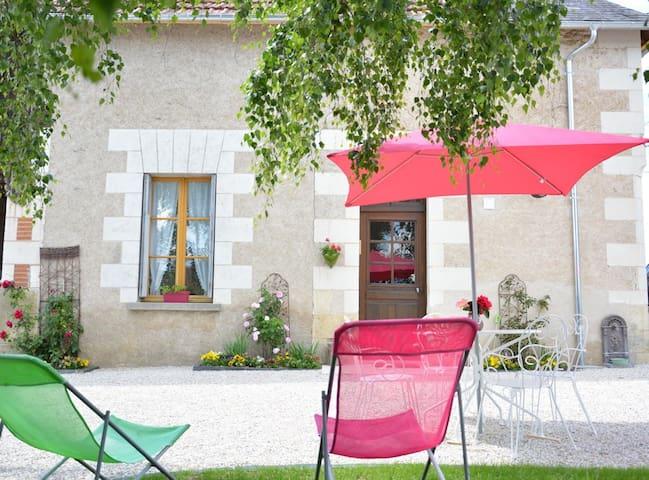 Petit gîte de charme près château de Chenonceau