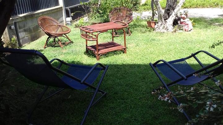Monolocale con giardino relax in Maremma