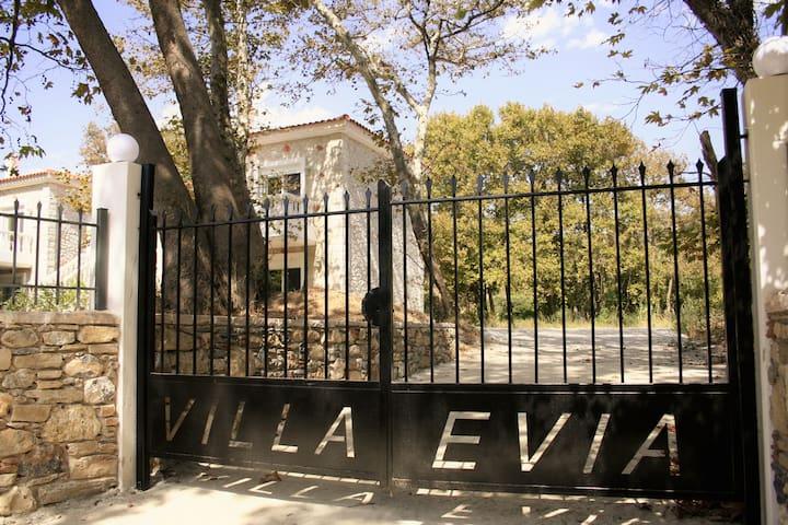Villa Evia, 3 villa's, villa Anne