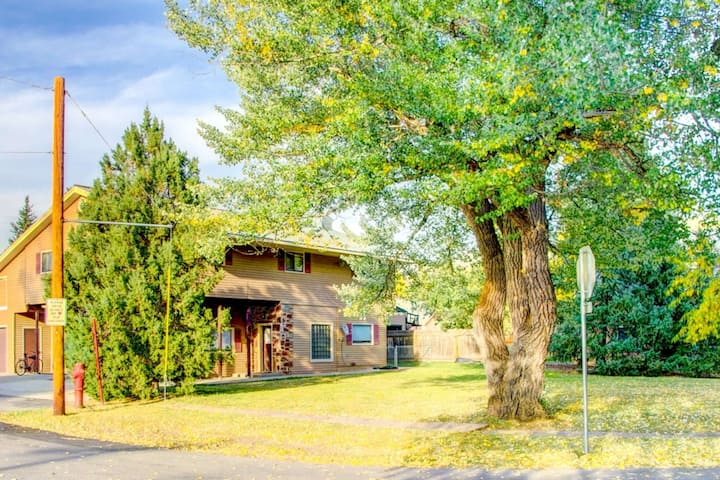 Dog Friendly/Downtown, Big Home w/HUGE yard, Near Park, Lots of Parking, Wood Fireplace & Gas Stove