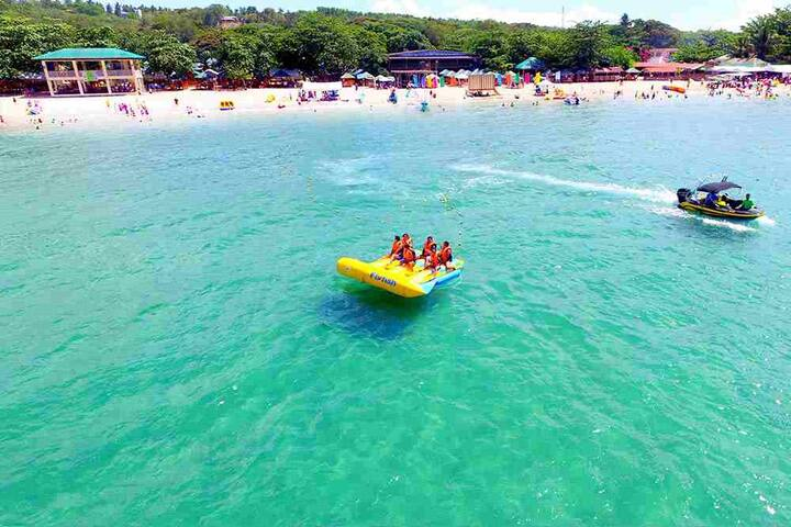 Room YELLOW BELL:LAIYA WHITE BEACH: for 6-8persons