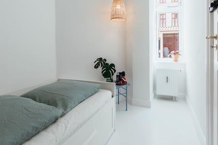 A small bright room