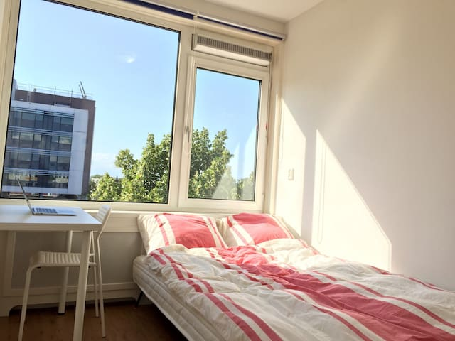 Clean&comfortable close 2 TU & City - Delft - Appartement