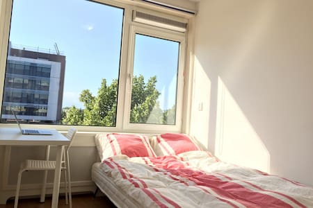 Clean&comfortable 5min central stat - Delft - Apartament