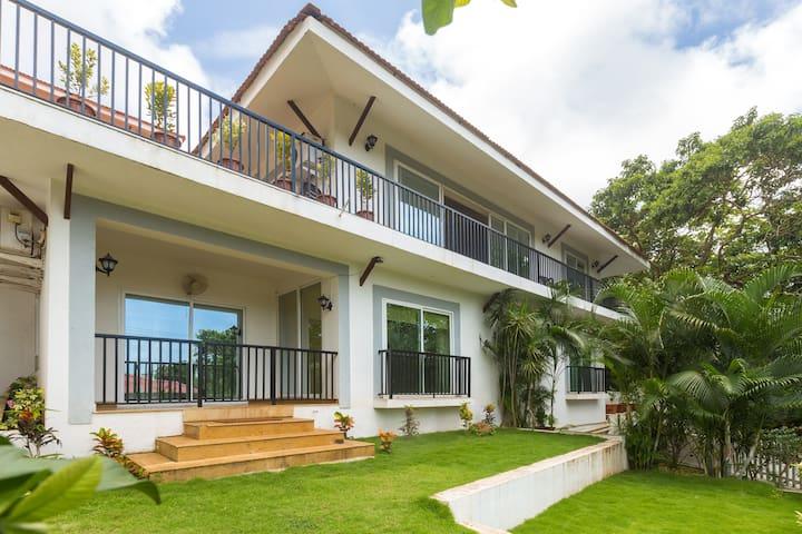 Elaine Gardens 3BHK Villa W/ Pool & Garden @Mapusa