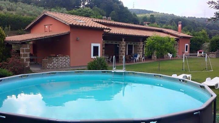 casale 10 min da Trevignano Romano
