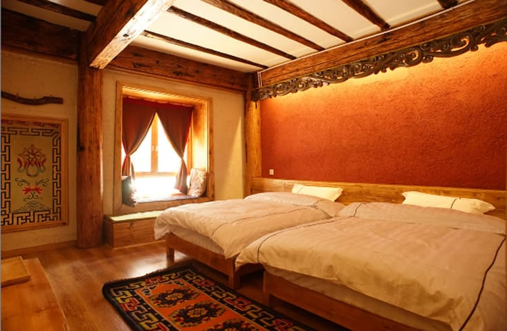 House of waking sunlight Twin bed A - shang-rila - Bed & Breakfast