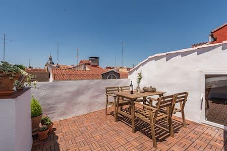 Ático-Loft con terraza en centro - Madrid