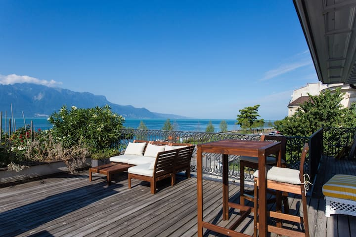 Apartment on Terrace - Vevey - Daire