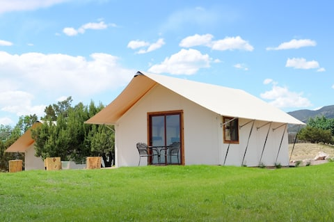 Glamping Tent - Double Queen - Royal Gorge Cabins