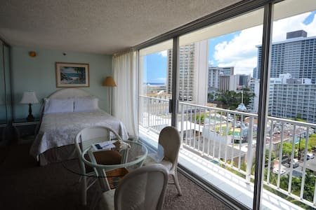 PM1304 OCEAN/CITY VIEWS! AMAZING!!! - Honolulu - Appartement