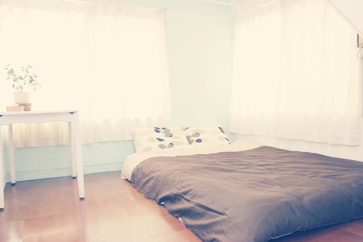 ATAATA HOUSE Room1 Doublebed room/Park/Pick up/ - Yokkaichi-shi - House