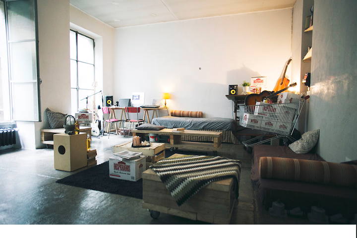 beds in loft/openspace - Milano - Loft