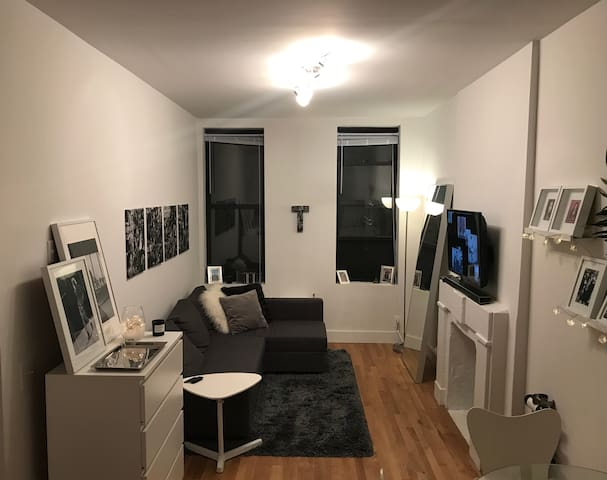 Stylish Apartment 3 Blocks from Central Park