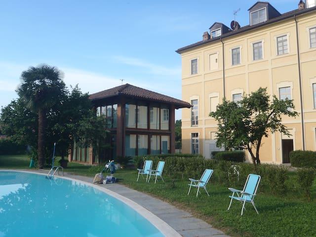 Openspace a Villa Palma con Piscina - Moncalieri - Leilighet
