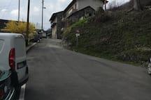 2. Weg aufwärts vom Parkplatz