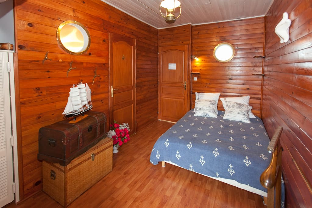chambre marine 1 lit double