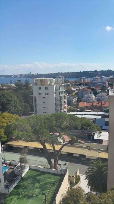 Kings Park from Bedroom 2.