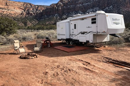 Camp Valhalla at Zion Site#2