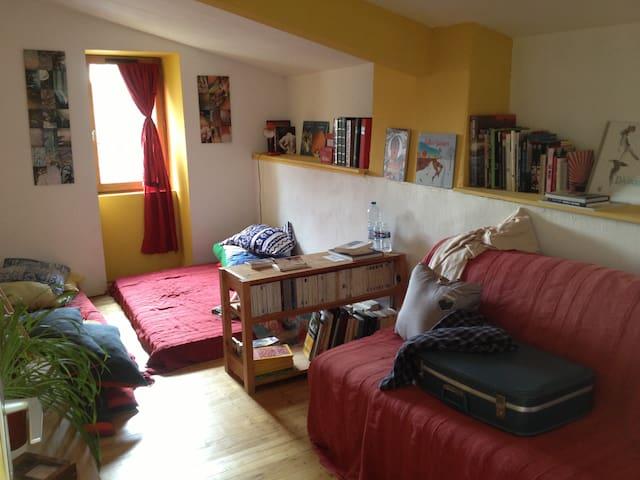 chambre de maison mignonette - Angoulême - Casa
