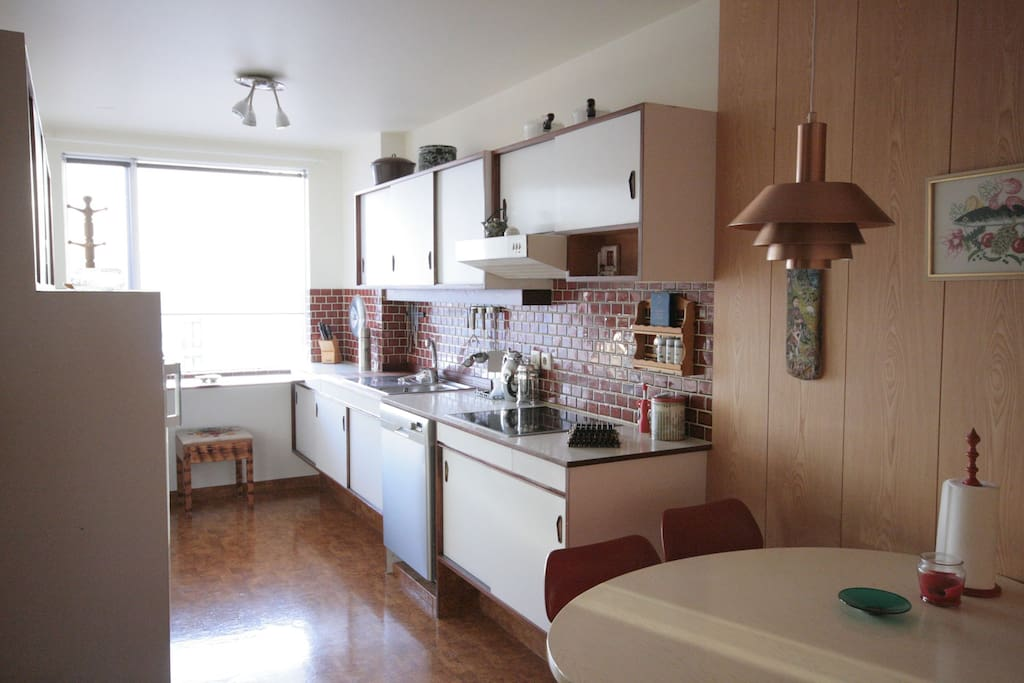 Functional full equipped kitchen with new appliances