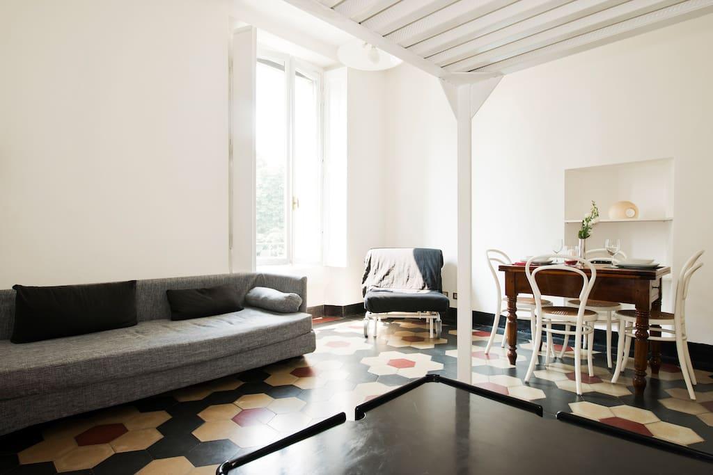 una finestra sul parco wohnungen zur miete in mailand lombardia italien. Black Bedroom Furniture Sets. Home Design Ideas