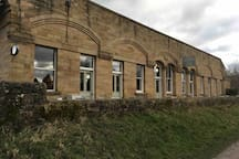 Hassop Cafe on the Monsal Trail is the place to hire bikes and a must visit even for a coffee.