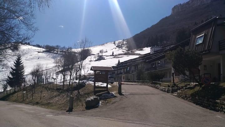 Nido in montagna, sulle piste da sci!