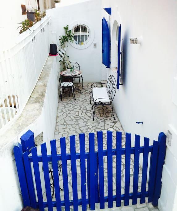 Cortile ingresso
