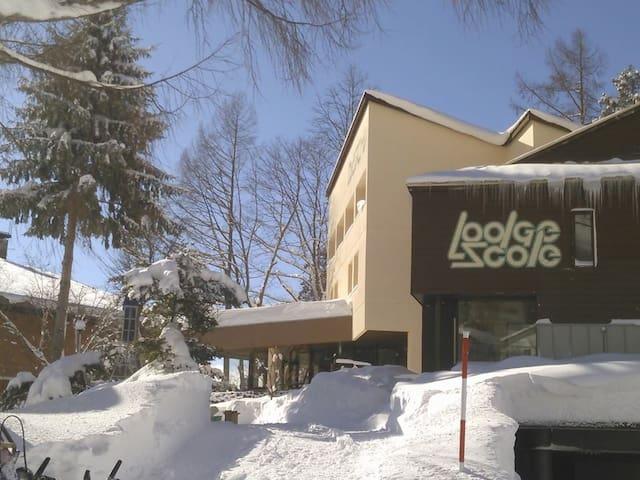Lodge Scole accommodation