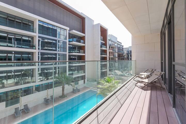 Stunning 1 Bedroom Apartment in City Walk