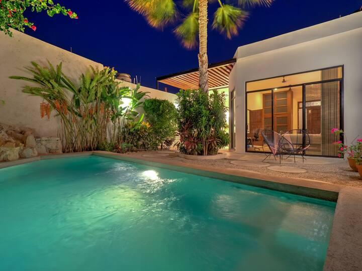 Casa Flamingo Gorgeous Home in Santa Ana Centro