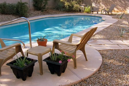 SUNNY AZ Home with Private Pool! - Queen Creek - Villa