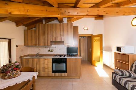 Cozy apartment only 100 mt to Lake - Pieve di Ledro - Leilighet