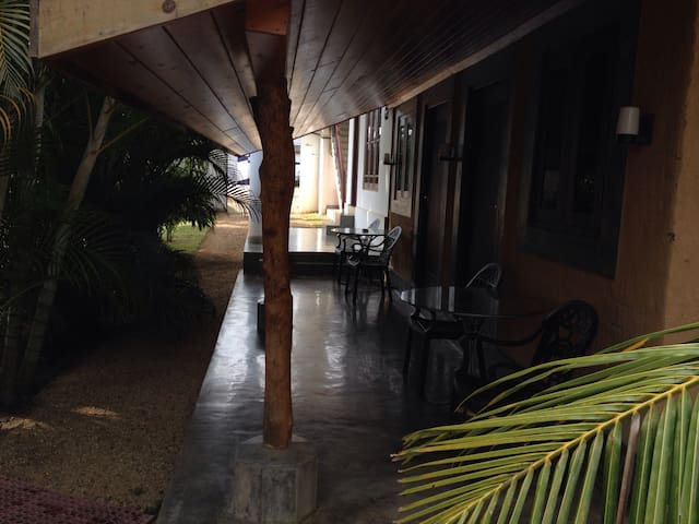 Cozy mud house is private room in weligama