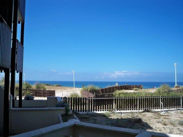 T2 en front de mer - Lacanau ocean - Apto. en complejo residencial