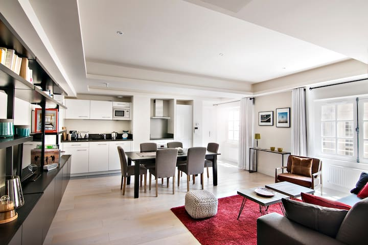 Apartment Gustave, Le Marais, Spa 4**** access