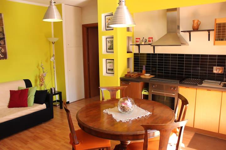 Accogliente appartamento con garage - Chianciano Terme - Daire