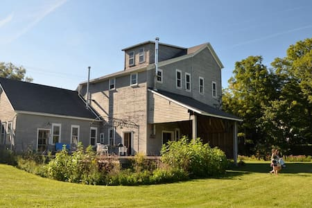 Bohemian-Style Converted Grain Mill - Bovina Center