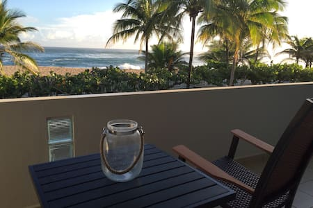 Amazing Beachfront Condo II - Manatí