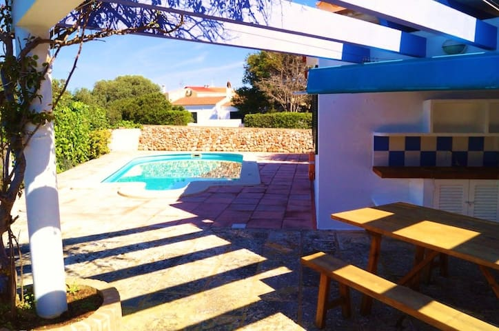 Stylish villa with pool near beach - Ciutadella de Menorca - Villa