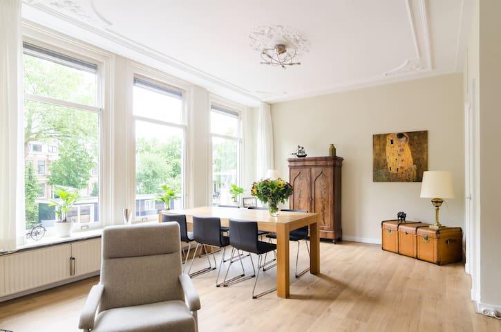 charming large apartment, quiet, center,free bikes