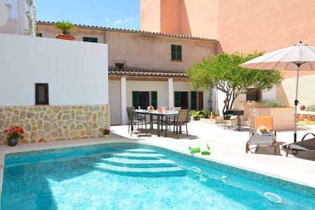 WINTER OFFER!! Mallorca Townhouse with pool 6 pers - Ariany