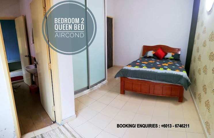 Bedroom B with aircond