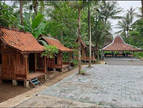 Mini Joglo Stage nella zona turistica di Borobudur