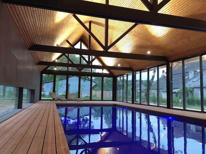 Cosy Bed & Breakfast with indoor Swiming Pool