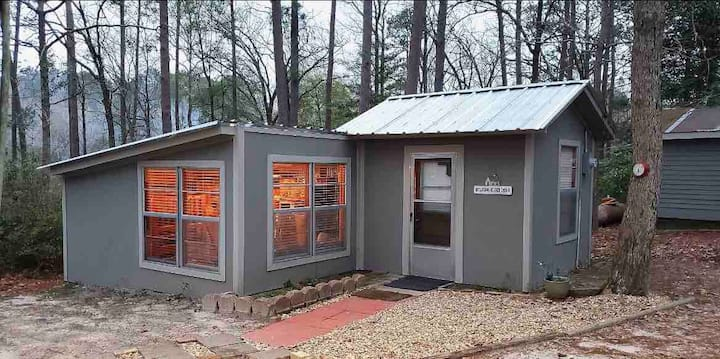 Sam Rayburn Gray Fishing Cabin